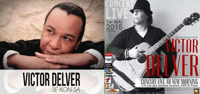Victor Delver en concert le 1er mai 2015 au New Morning