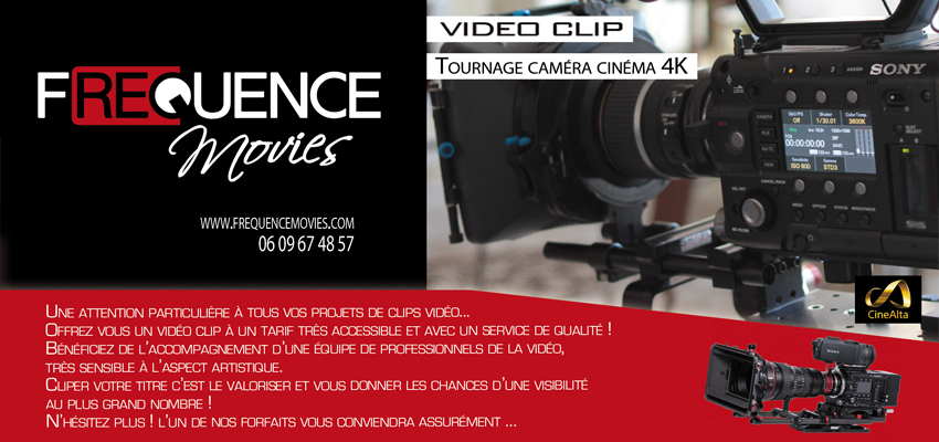 Frequence Movies vous propose son expertise pour vos vidéo-clips